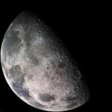 Racing over lunar surface
