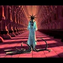 mystical woman dance of the dark sun