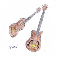 un bajo y una guitarra 2