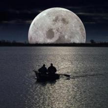 Speak on the moon