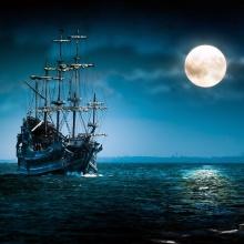 Aventuras en el mar de la luna