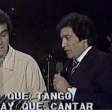 Que tango hay que cantar