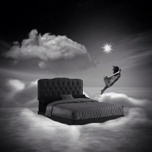 Flying In A Black Dream