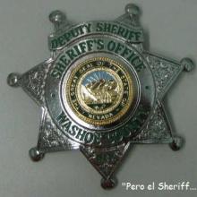 """Pero el Sheriff..."""