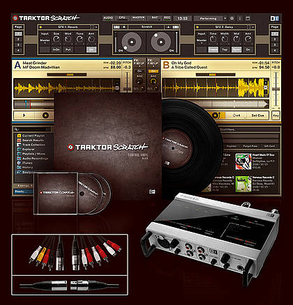 Native Instruments TRAKTOR 3.3Full